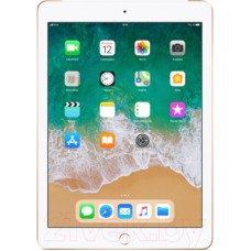 Планшет Apple iPad 2018 32GB LTE / MRM02 (золото)